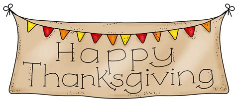 happy thanksgiving banner clipart clipartsgram