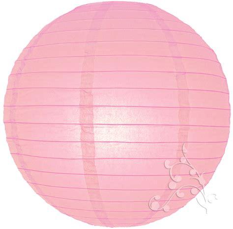 ribbed pink chinese lantern