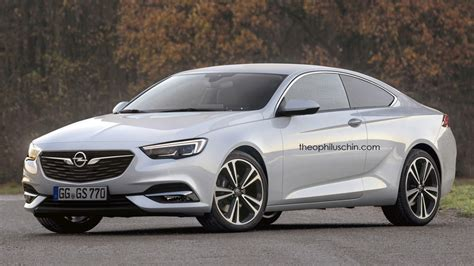 Opel Coupe by Two Door Opel Insignia Coupe Imagined Anyone Interested
