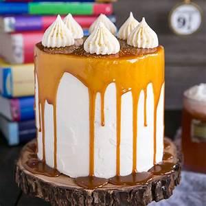 Butterbeer Cake (Harry Potter Cake) | Liv for Cake  Cake