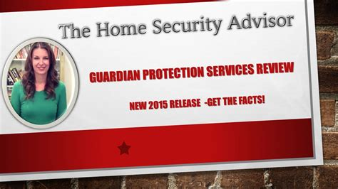 guardian protection services review youtube
