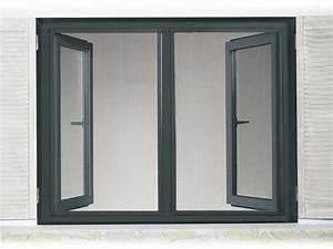 Fenster Mit Gitter : insektenschutz fenster mit alu rahmen anthrazit 130x150 fliegen m cken gitter ~ Sanjose-hotels-ca.com Haus und Dekorationen