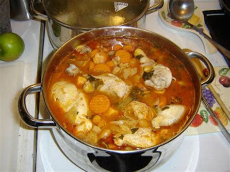 Caldo De Pollo-mexican Chicken Stew Soup Recipe