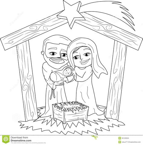 Search Results For Christmas Coloring Page Manger