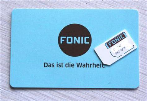 fonic anonym simkarte prepaid gratis aktiv frei registiert