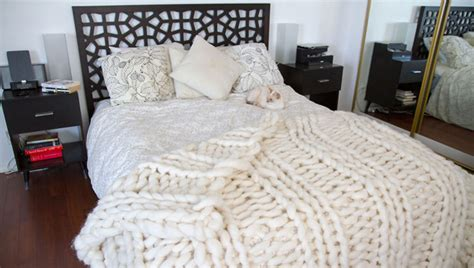 Decke Stricken Für Jedermann Einfache Anleitung Für Riesen