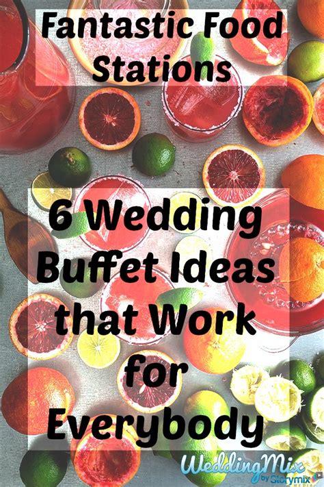wedding reception station ideas
