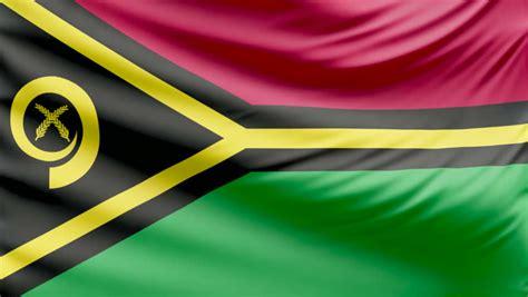 Vanuatu flag Footage | Stock Clips