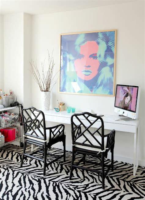 decoration zebre chambre le tapis zèbre en 50 photos avec beaucoup d 39 idées