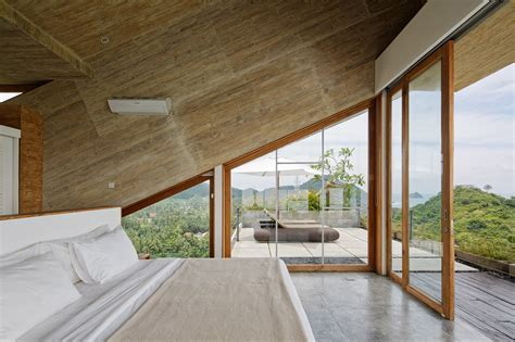 Tilted Shipping Container On Lombok Hillside House   Home