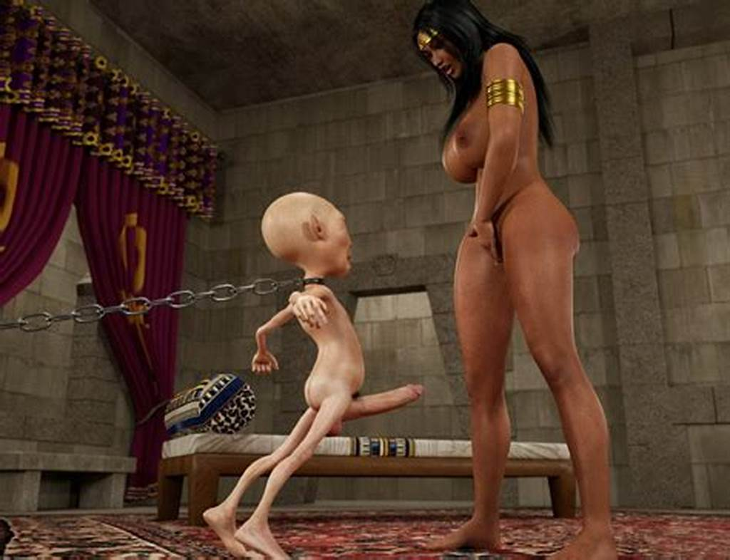 #Great #Sex #With #A #3D #Babe #And #Her #Favorite #Slave #At