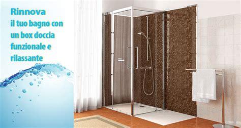 trasformare doccia in vasca da bagno trasformazione vasca da bagno in box doccia