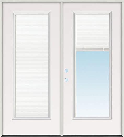 6 0 quot miniblind lite steel patio prehung door unit