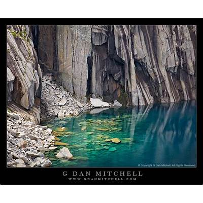Precipice Lake Submerged Rock by gdanmitchell on DeviantArt