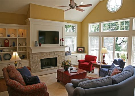Country Living Rooms Houzz by Happy Country Retreat Traditional Living Room