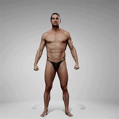 Pose Anatomy Reference Male 360 Motion Pack
