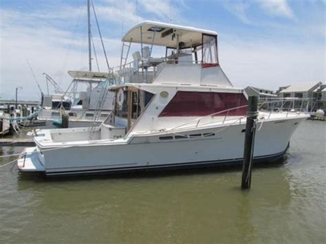 Used Boats Mobile Al by 1986 Jersey Sportfish 40 Foot 1986 Boat In Mobile