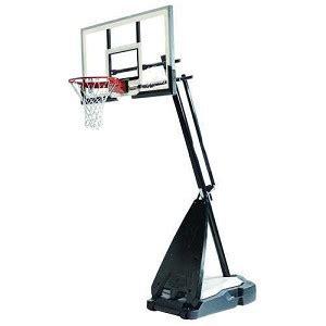 spalding  spalding portable  glass basketball