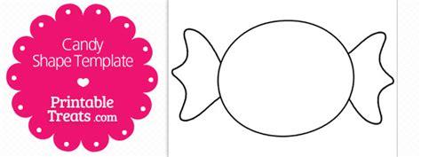 Printable Candy Shape Template — Printable Treats.com