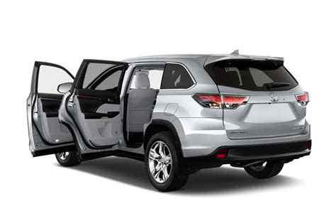 Toyota Highlander Motor by 2014 Toyota Highlander Reviews And Rating Motor Trend