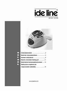Ide Line 743090 Manuals