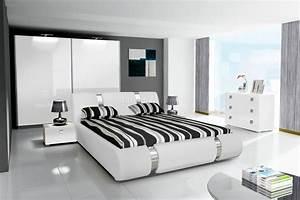 Schlafzimmer Hochglanz Weiß : komplett schlafzimmer novalis hochglanz schwarz wei ~ Frokenaadalensverden.com Haus und Dekorationen