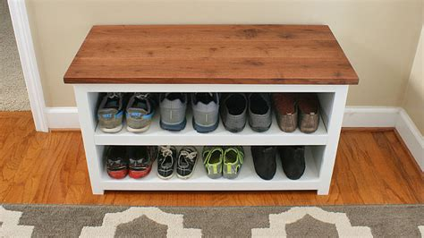 Kitchen Bench Ideas - shoe storage diy projects for small spaces decorating your small space