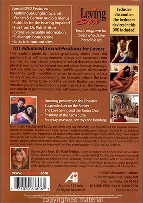 101 Advanced Sexual Positions For Lovers Adult Dvd Empire