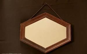 Miroir Ancien Le Bon Coin : miroir ancien octogonal en bois r ve de brocante ~ Teatrodelosmanantiales.com Idées de Décoration