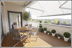 balkon dekorieren selber machen balkon house und dekor With markise balkon mit my home tapeten