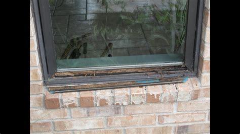 repair pella window rot youtube