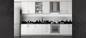 Cuisine Blanche Et Noire : deco cuisine blanche et noire ~ Nature-et-papiers.com Idées de Décoration