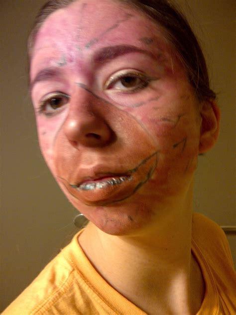 medli inspired bird makeup  face painting art