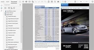 2013 Hyundai Genesis Repair Manual