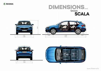 Scala Skoda Dimensions škoda 1920px Storyboard Infographics