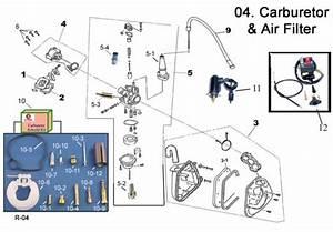 Air Box  Air Filters  Carburetors Carb Kits