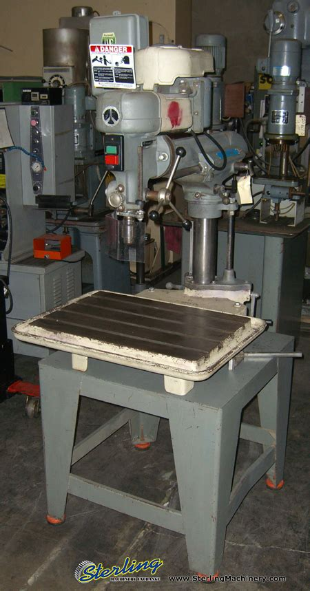 rockwell radial arm drill press sterling machinery