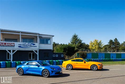 Alpine A110 Ford Mustang Gt Vergleich by Interieur Comparatif Alpine A110 Vs Ford Mustang 29 Photo Hd