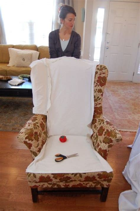 diy chair slipcover diy slipcover how to basics