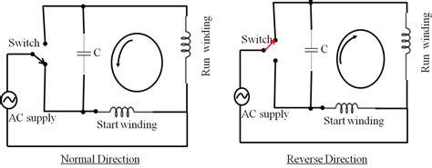 capacitor motor wiring diagram get free image about