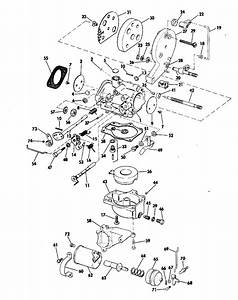 Evinrude Carburetor Parts For 1973 25hp 25303a Outboard Motor