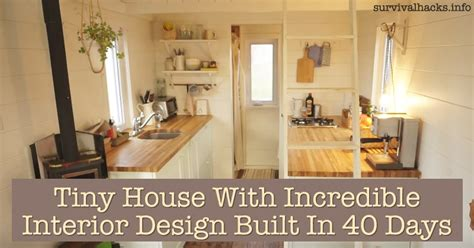 clever small kitchen design tiny house with interior design built in 40
