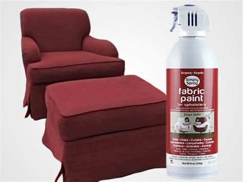 upholstery fabric paint burgundy upholstery fabric spray paint