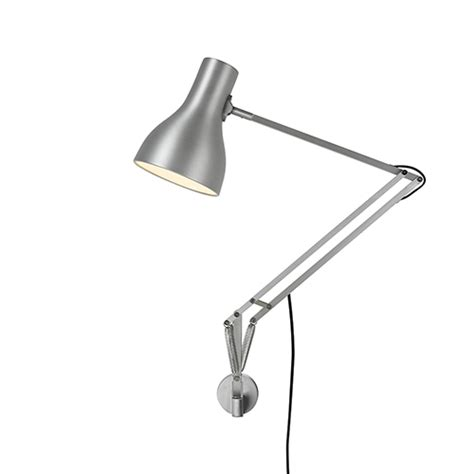 anglepoise wall light type 75 wall mounted l utility design uk
