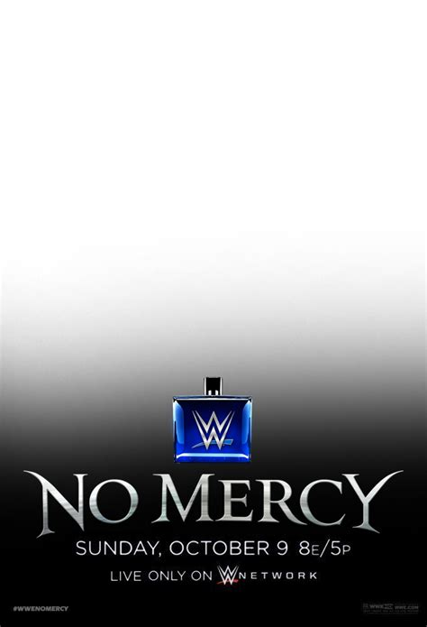 Renders Backgrounds LogoS: No mercy poster Psd