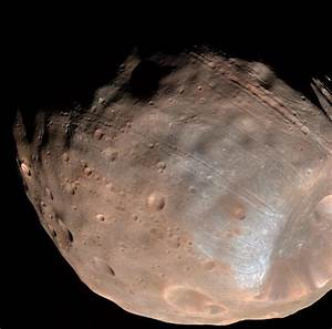 Mars' Moon Phobos is Slowly Falling Apart | NASA
