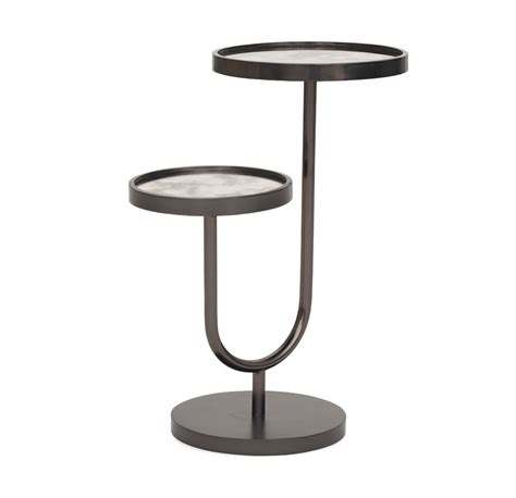pull up side table ringo pull up side table black