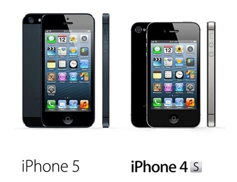 what s the difference between iphone5 and iphone 5s difference between iphone 4s iphone 5