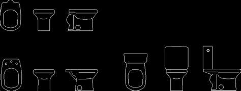 blocks toilets bidets autocad cad kb