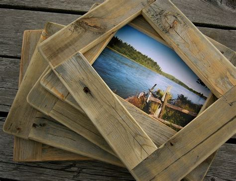barn wood picture frames barnwood picture frame 5x7 rustic refined